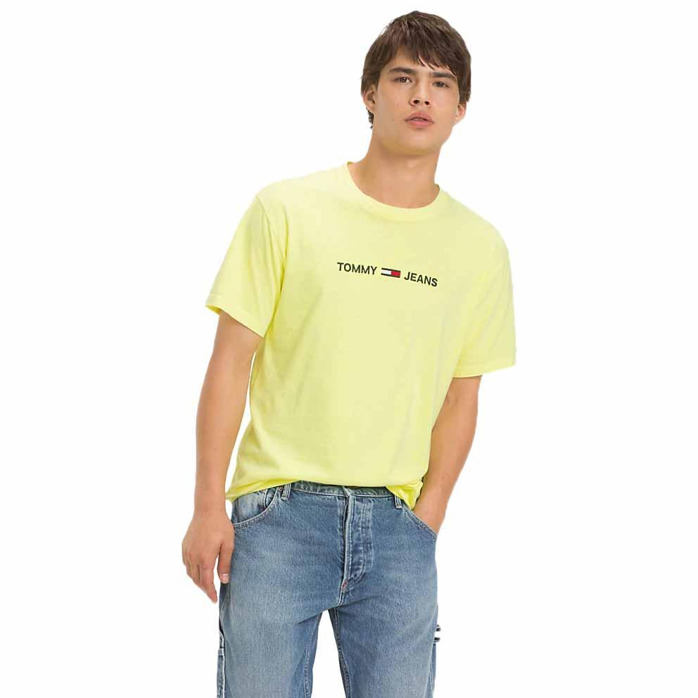 c87bb8b0c33 Tommy jeans Small Text Amarillo comprar y ofertas en Dressinn