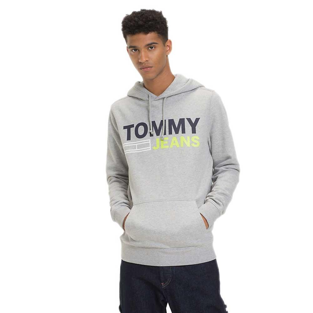 0321dc647 Tommy hilfiger Corp Logo Hoodie Grey buy and offers on Dressinn