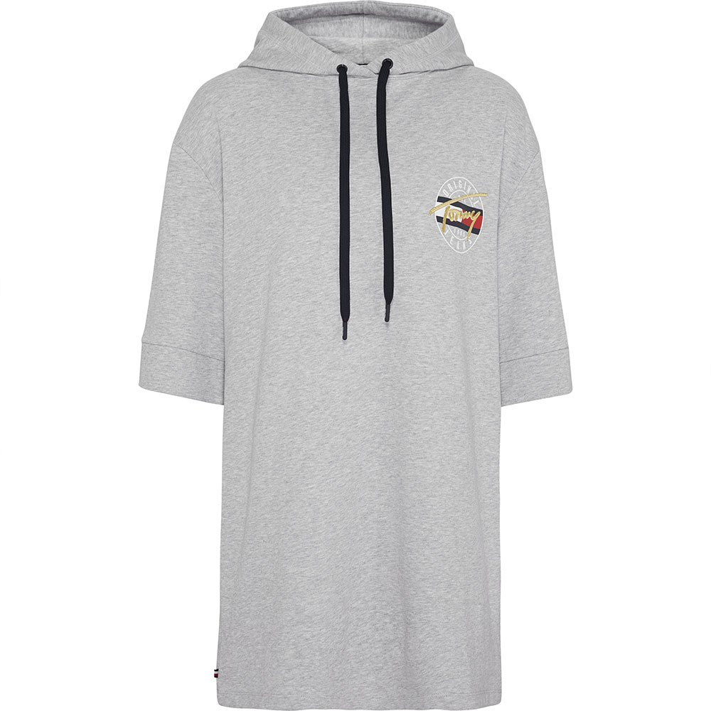 085e0f3c Tommy hilfiger Logo Hoodie S/S Grey buy and offers on Dressinn