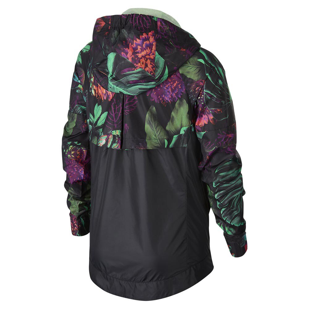 132b705d Nike Sportswear Windrunner' Floral' Older Kids' (Girls') Floral Windbreaker  - Green | AQ8803-343 | FOOTY.COM