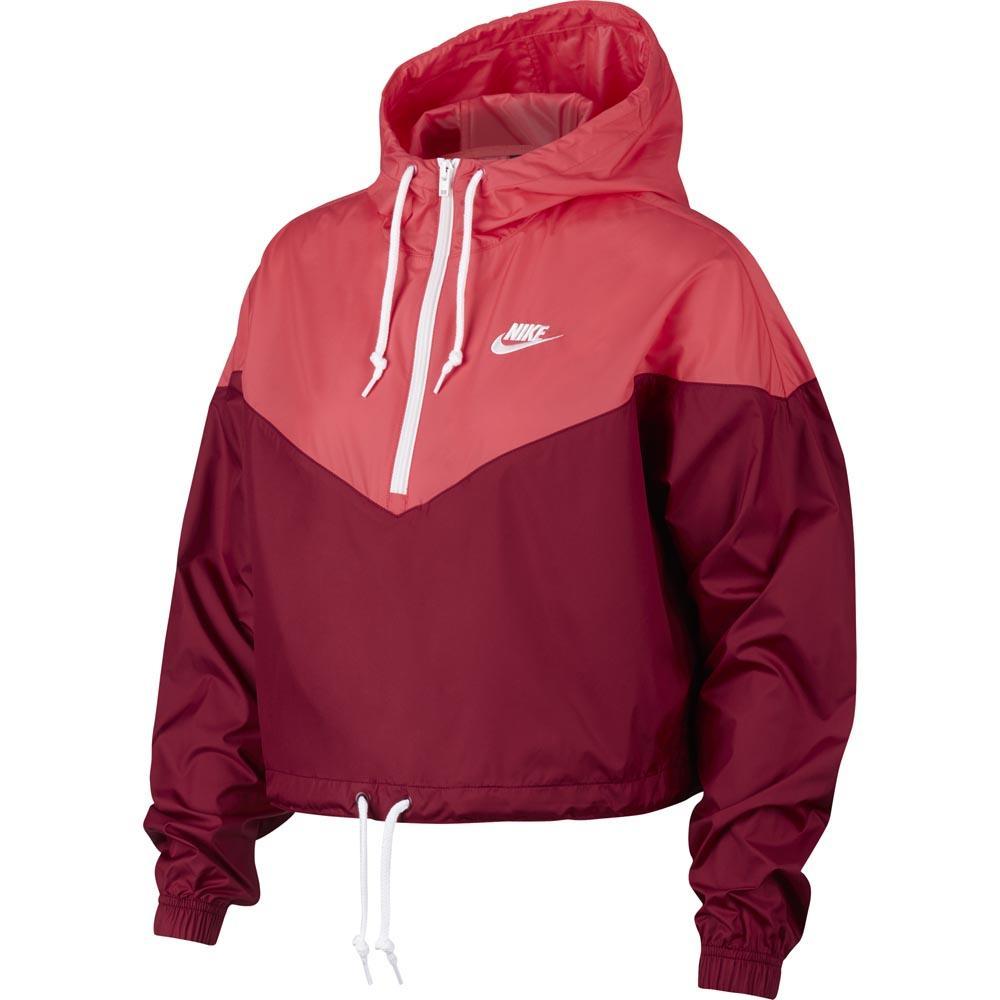 ab423fa0eb5c Nike Sportswear Heritage Windbreaker Red