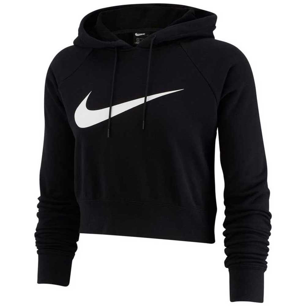 best authentic 3af0a f17d6 Nike Sportswear Swoosh Crop Black buy and offers on Dressinn