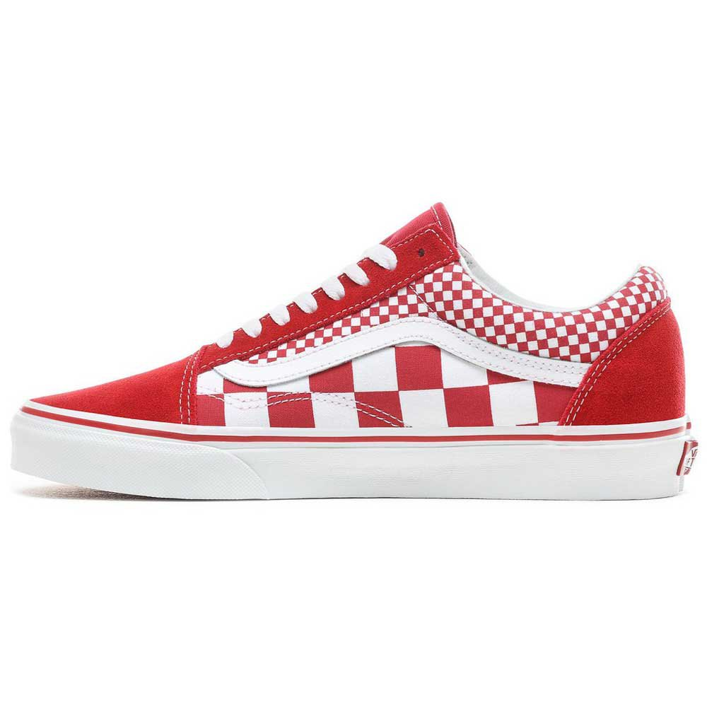 vans damier rouge old skool