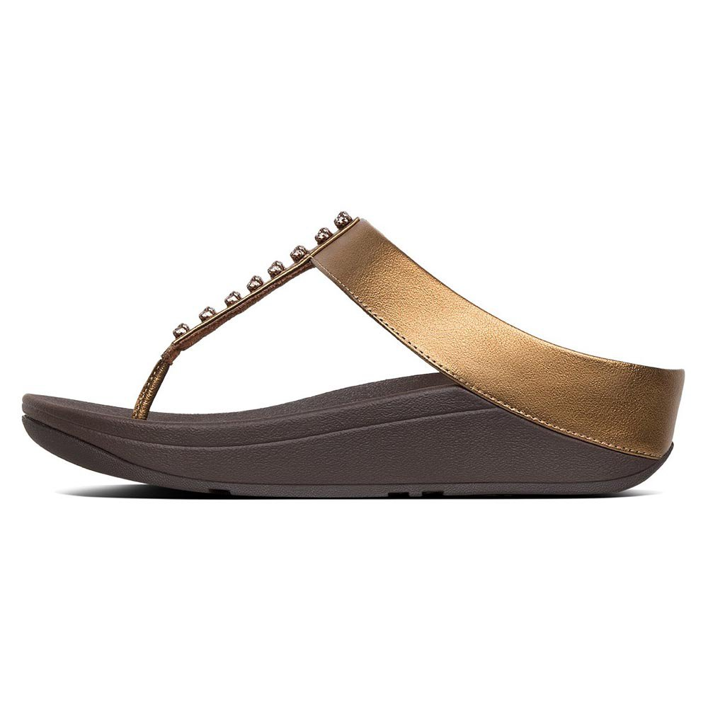79dcc463f688 Fitflop Fino Treasure Golden buy and offers on Dressinn