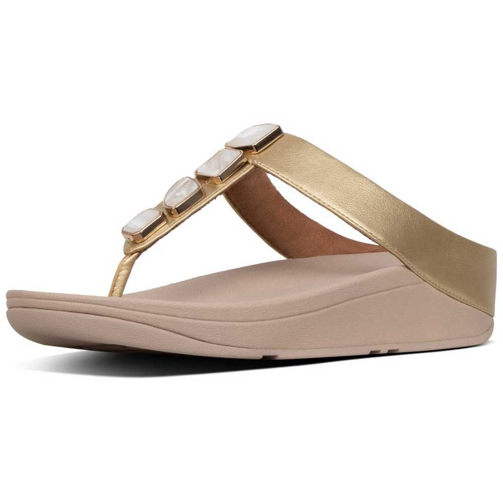 21d7f57171b1 Fitflop Fino Shellstone Brown buy and offers on Dressinn