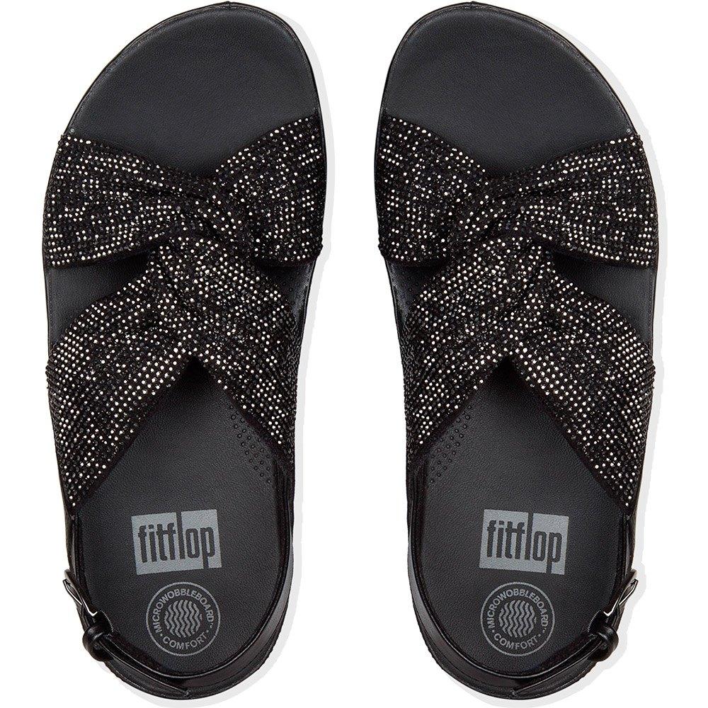 sandals-fitflop-twiss-crystal-back-strap, 82.95 GBP @ dressinn-uk
