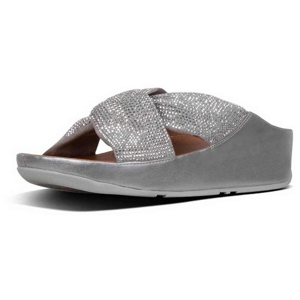 09bc0e637 Fitflop Twiss Crystal Slide Green buy and offers on Dressinn