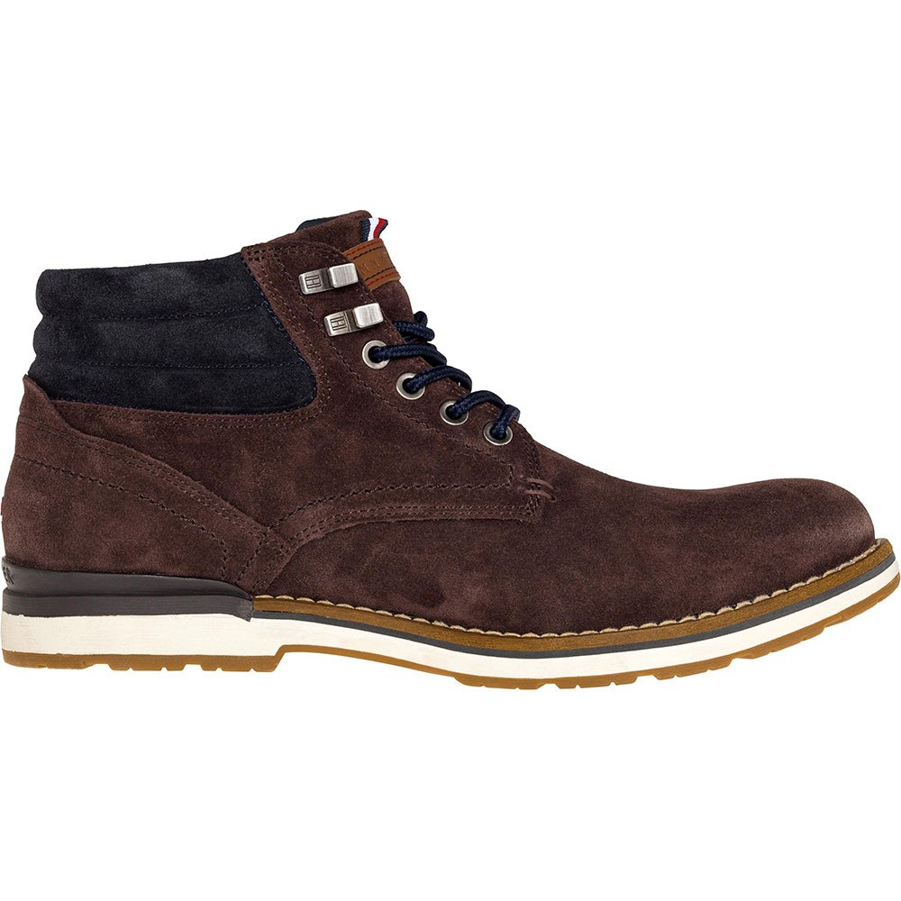 3efed99a Tommy hilfiger Outdoor Suede Boot Brown, Dressinn