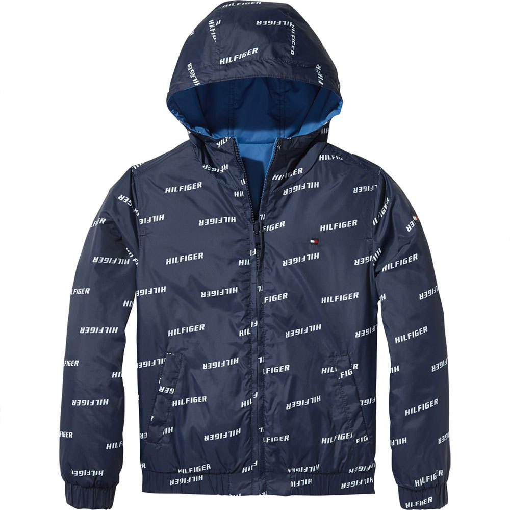 Tommy Hilfiger Boy's Essential Reversible Hooded Jacket