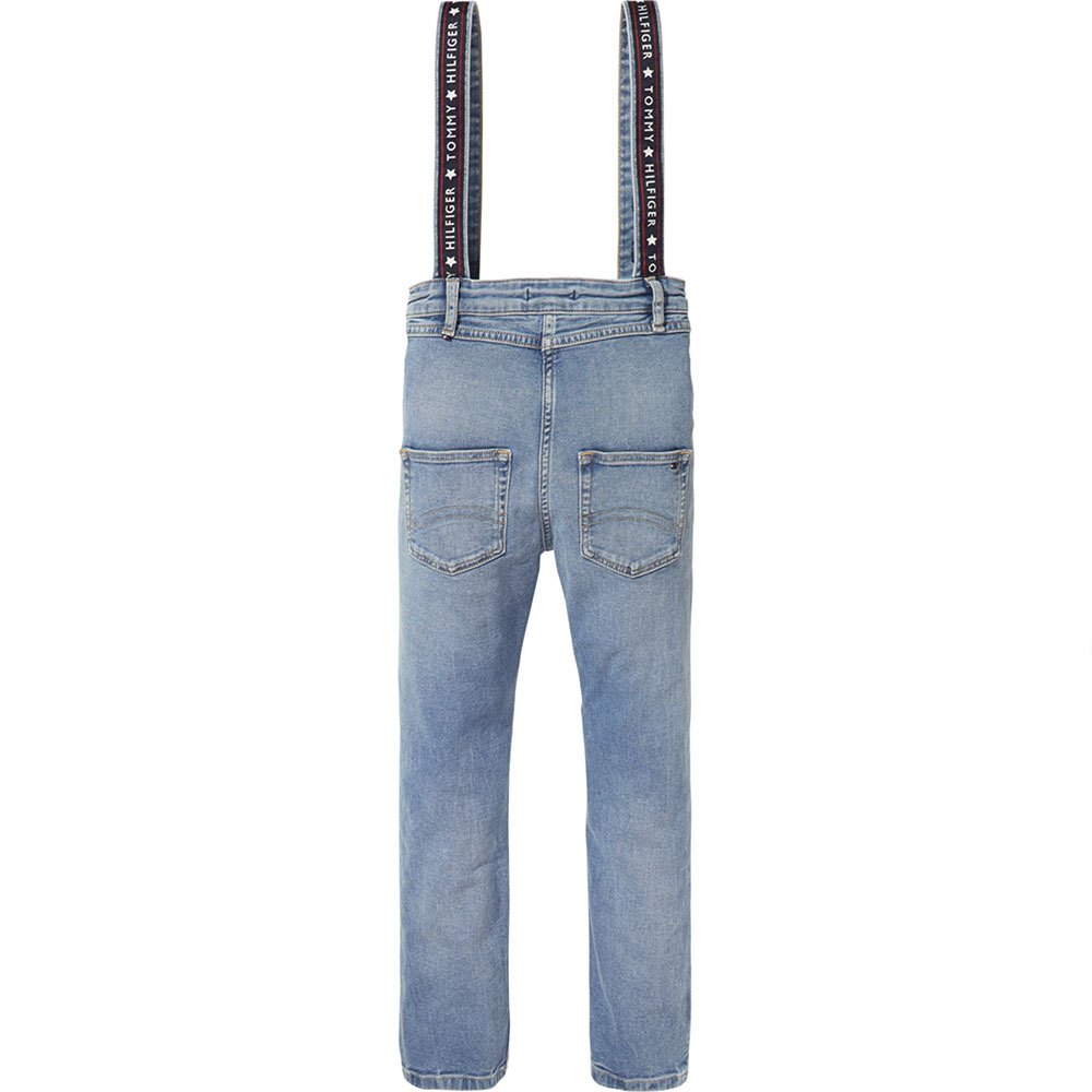 Pantalons Tommy-hilfiger Strap Hw Straight Ankle Dunbst