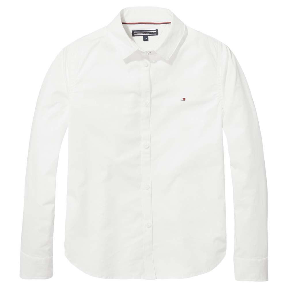 b2809b07 Tommy hilfiger Poplin White buy and offers on Dressinn