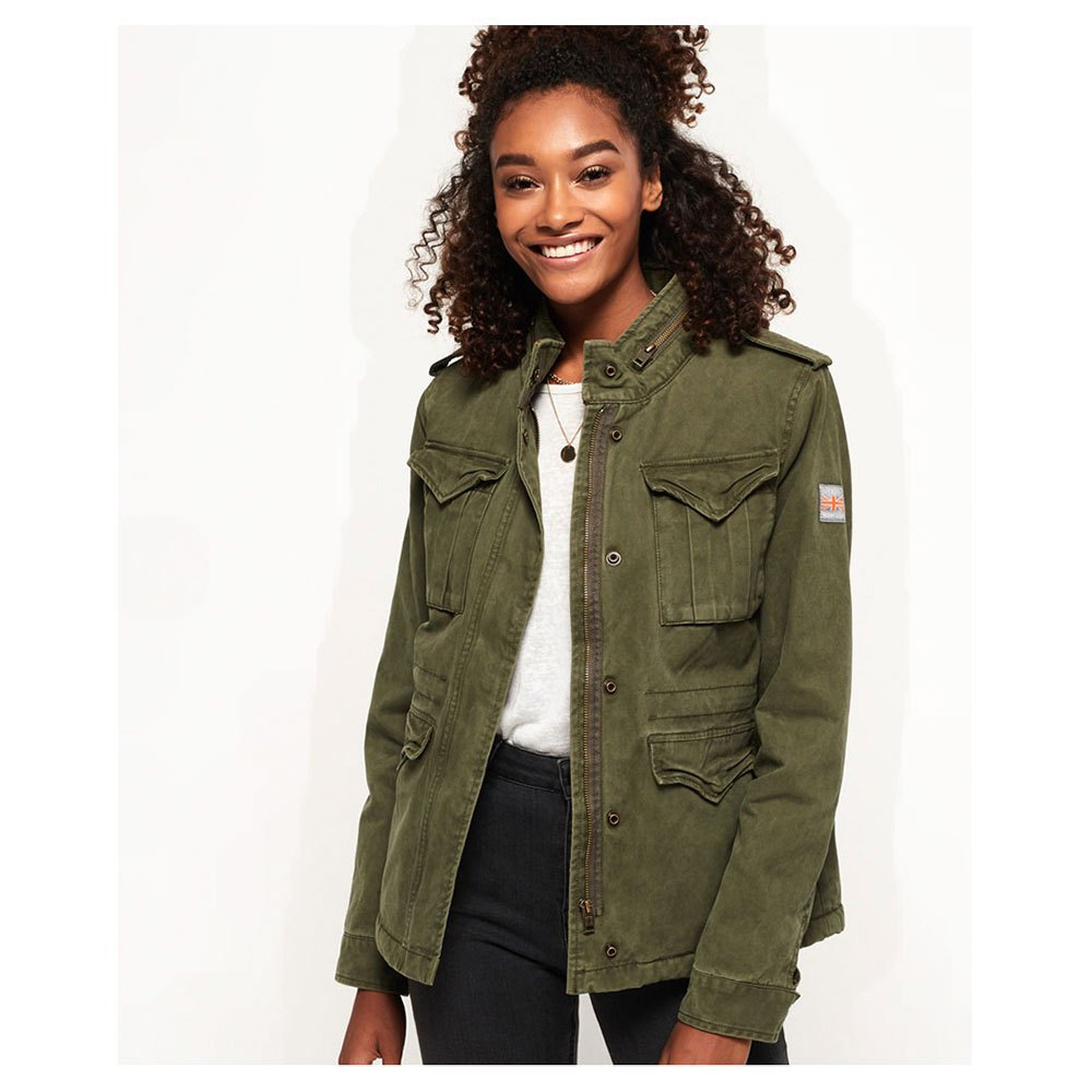 a61105ed81eed Superdry Classic Winter Rookie Military Green, Dressinn