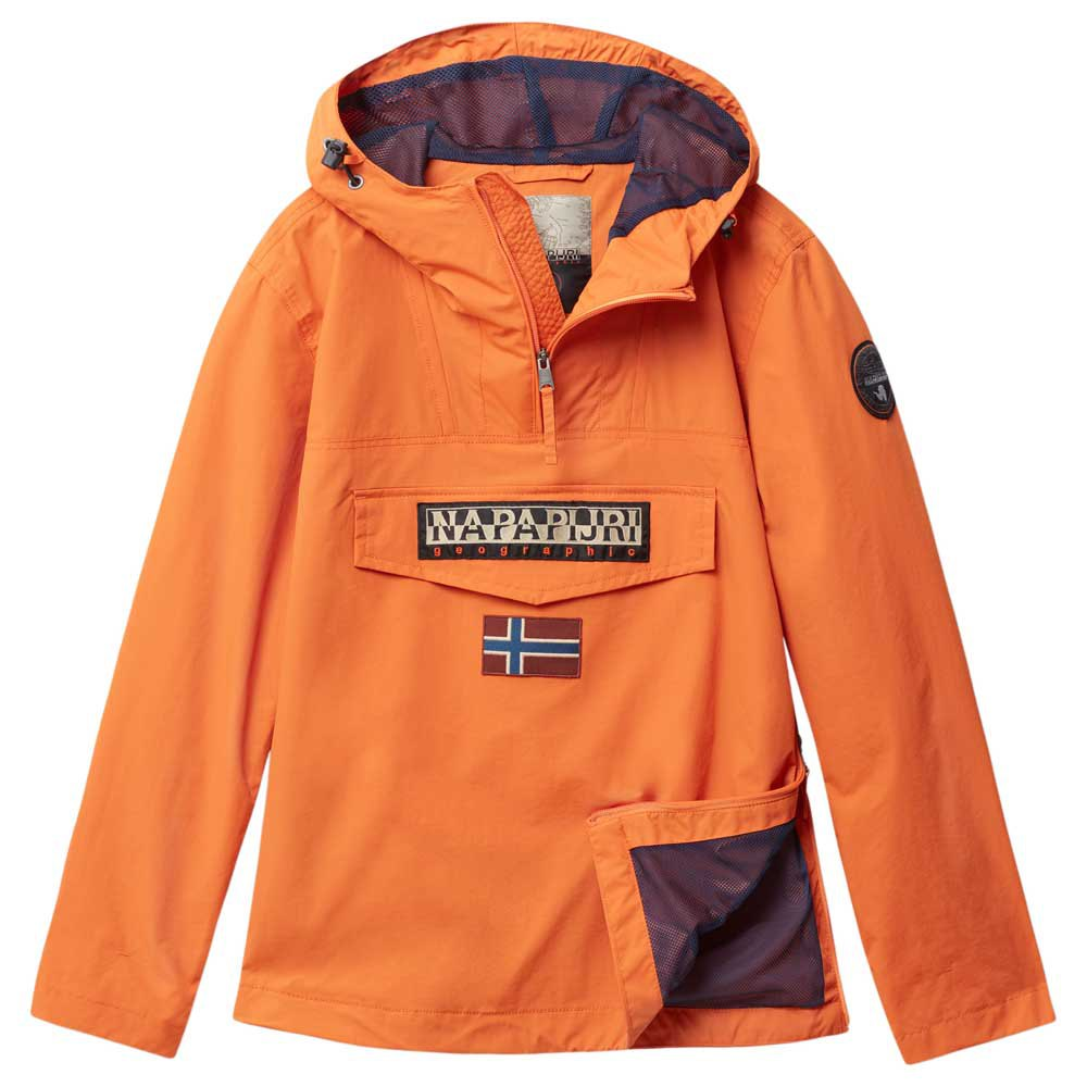 e0d4475cee5c Napapijri Rainforest M Sum 1 Orange buy and offers on Dressinn