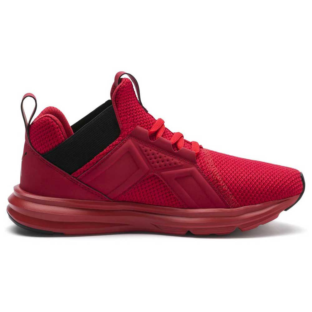 Puma Enzo Weave Trainers Red buy and offers on Dressinn