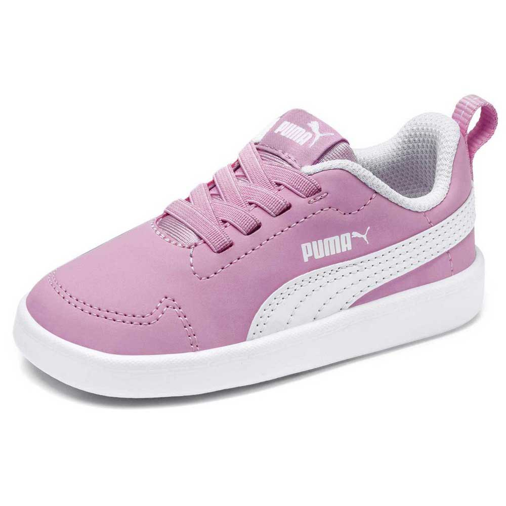 Puma Courtflex PS Trainers Pink buy and offers on Dressinn