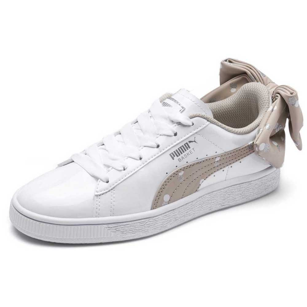 Puma select Basket Bow Dots White buy and offers on Dressinn