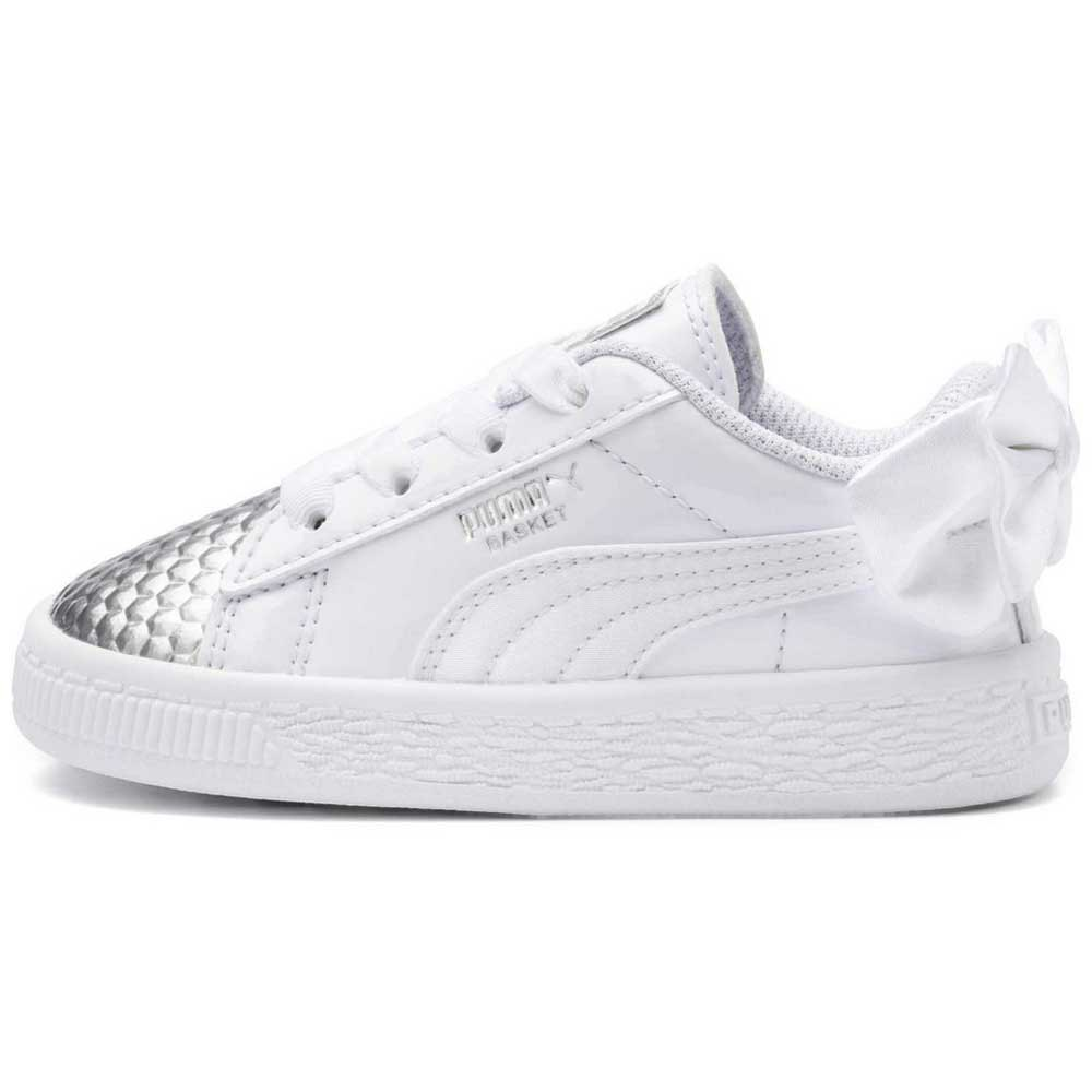 7ab151adbd43 ... Puma select Basket Bow Coated Glam AC Infant ...