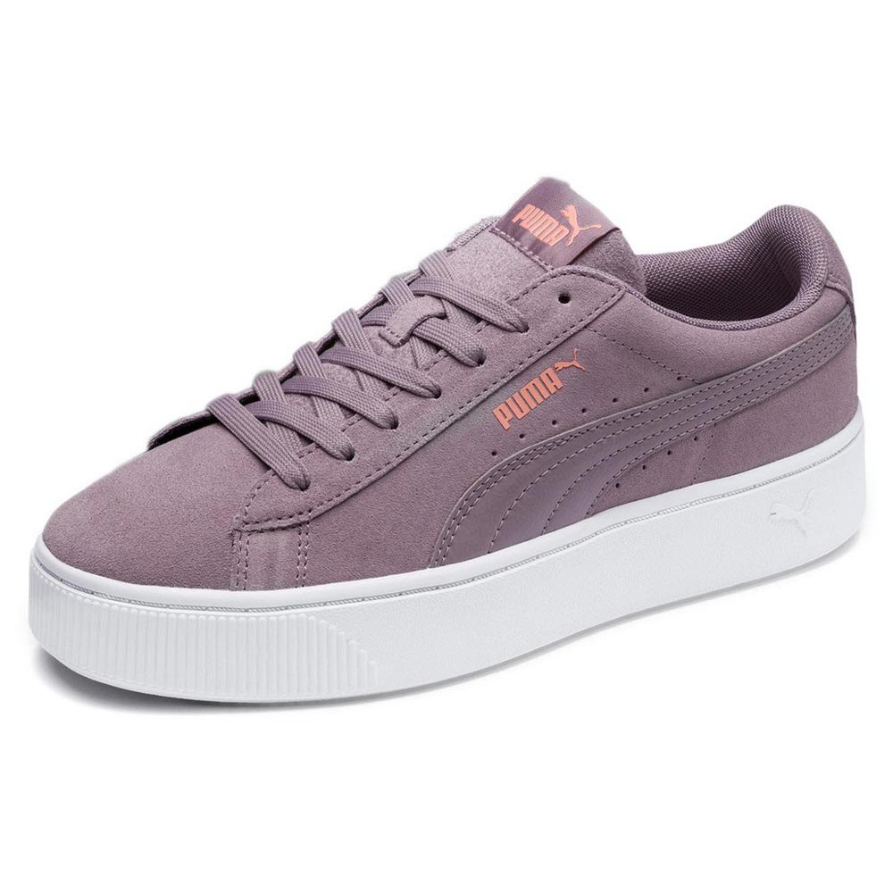 Puma Vikky Stacked SD Trainers Purple buy and offers on Dressinn