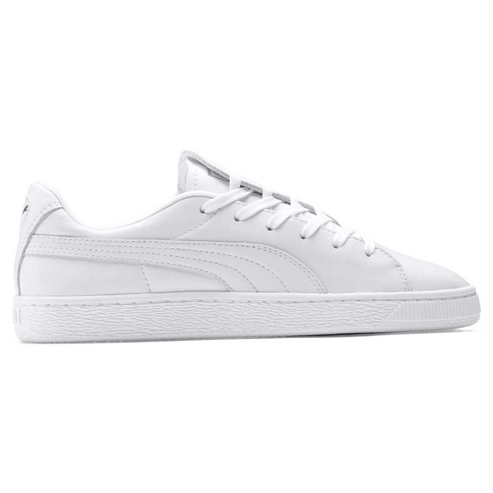 a98fe98f76fa35 Puma select Basket Crush Emboss White buy and offers on Dressinn