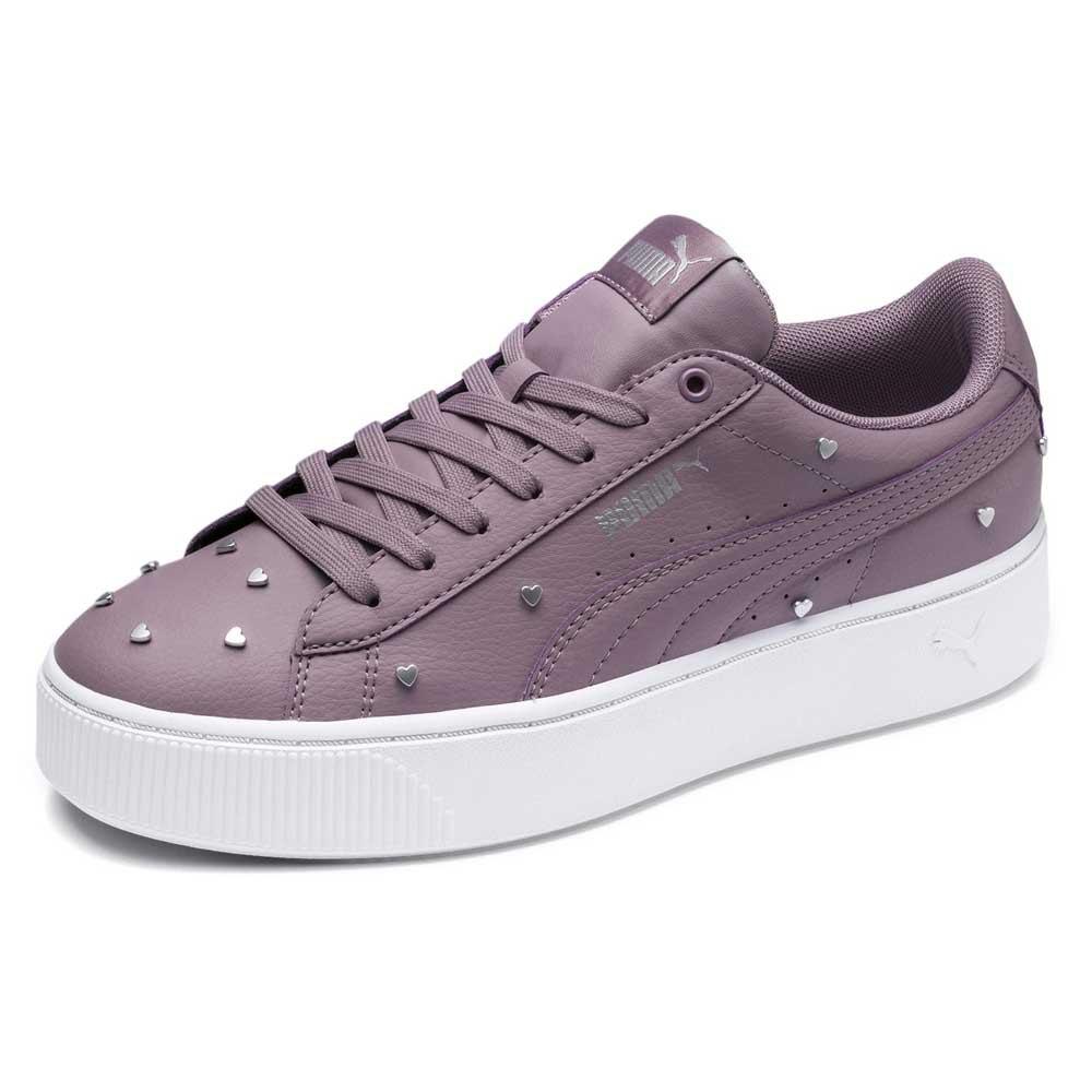 autentico scarpe temperamento limpido in vista Puma Vikky Stacked Studs Purple buy and offers on Dressinn