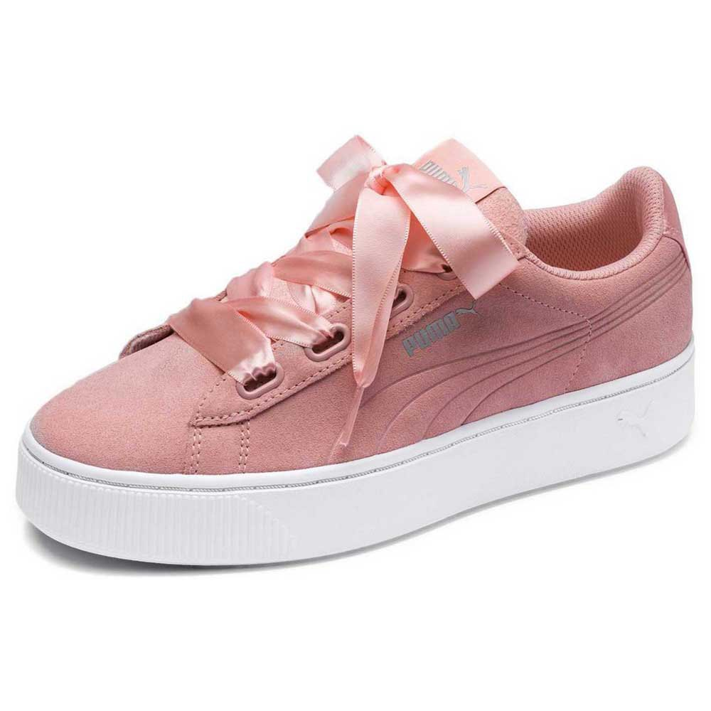 db494f884a0a Puma Vikky Stacked Ribbon S Pink buy and offers on Dressinn