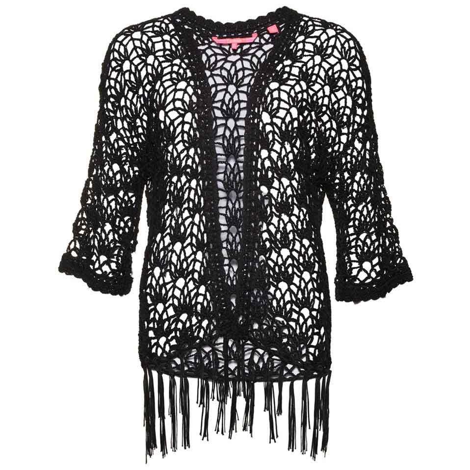 Superdry Sunset Crochet Kimono