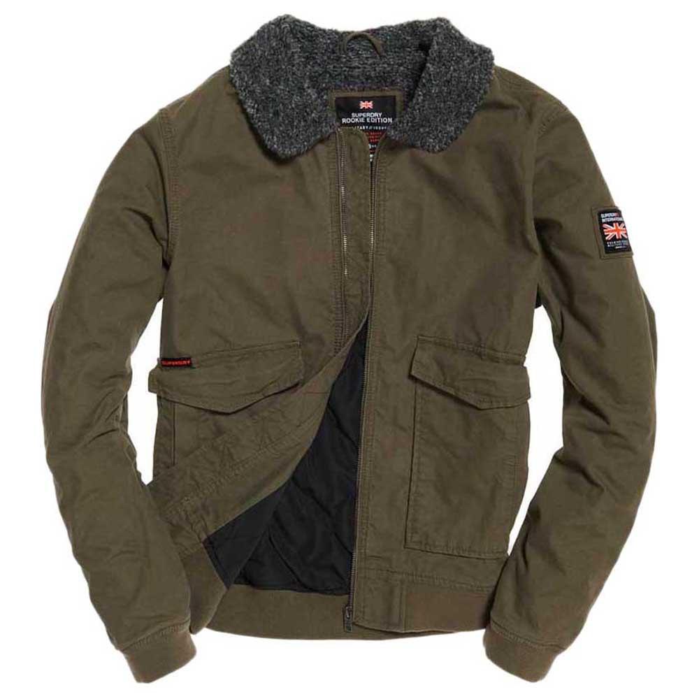 Vêtements Homme Vestes Superdry Rookie Winter Aviator Bomber