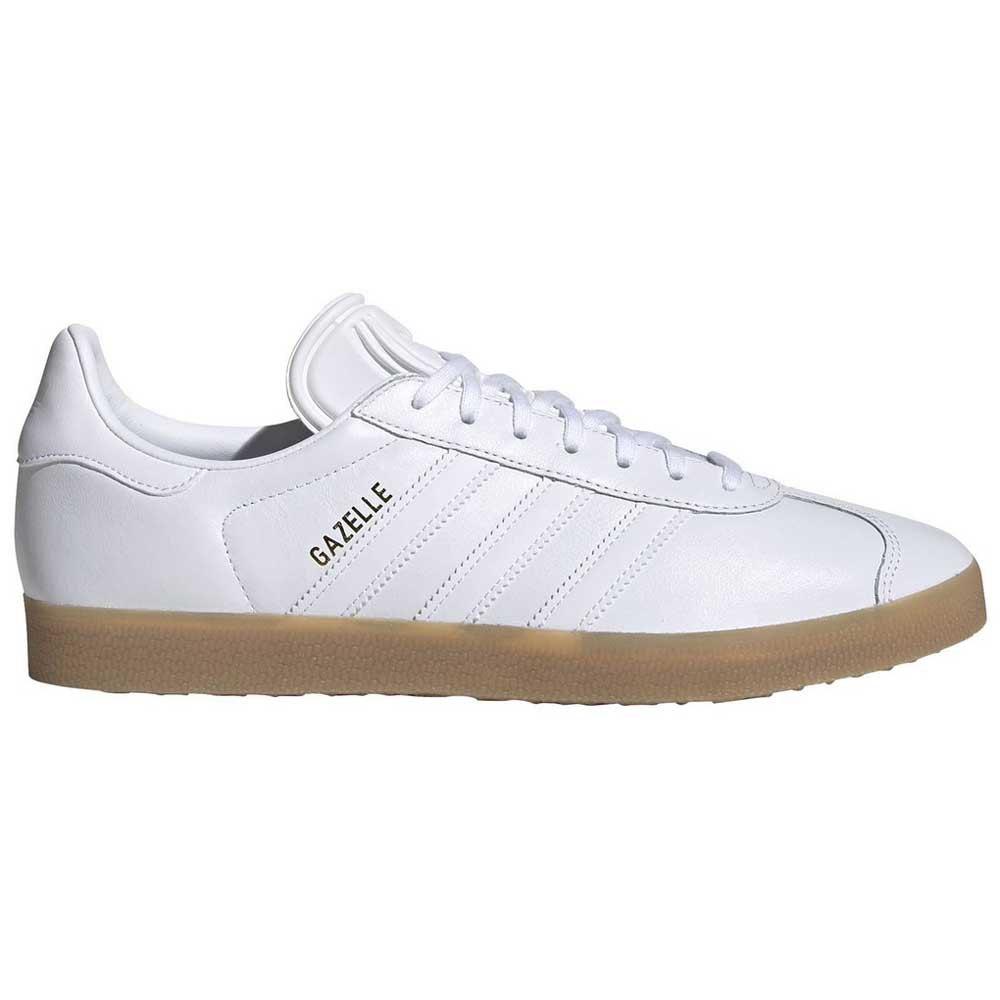 Adidas-originals Gazelle EU 42 Ftwr Whit / Gum 4