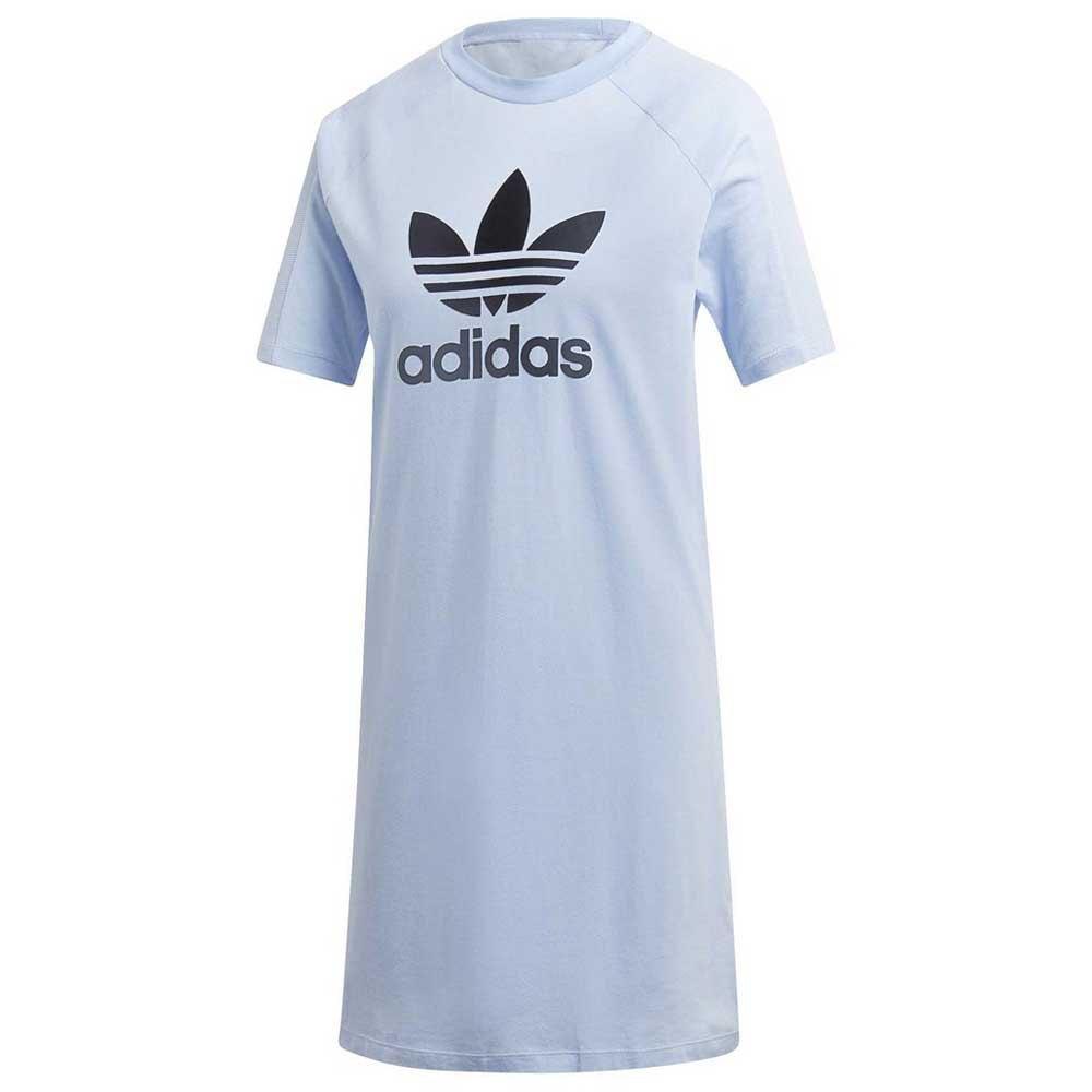 29263267 adidas originals Tee Dress Blå køb og tilbud, Dressinn Kjoler