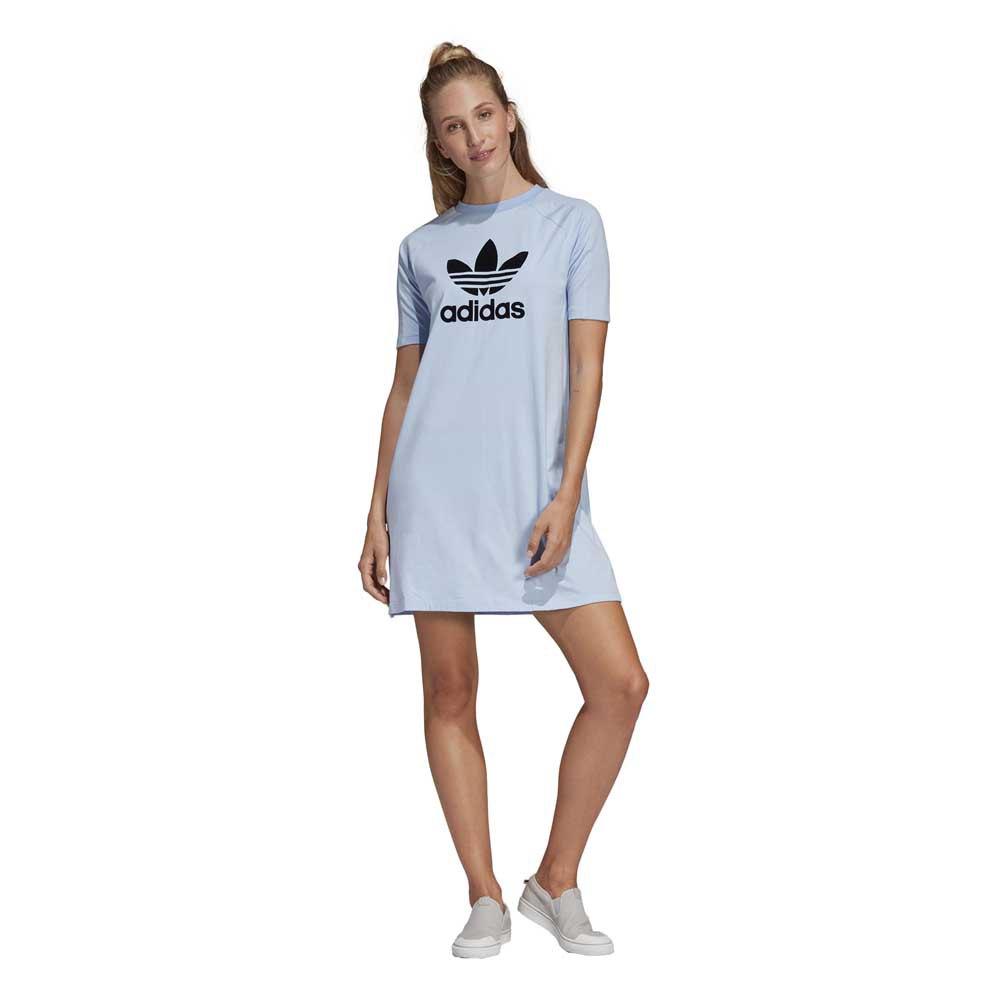 b2df6309 adidas originals Tee Dress Blue buy and offers on Dressinn