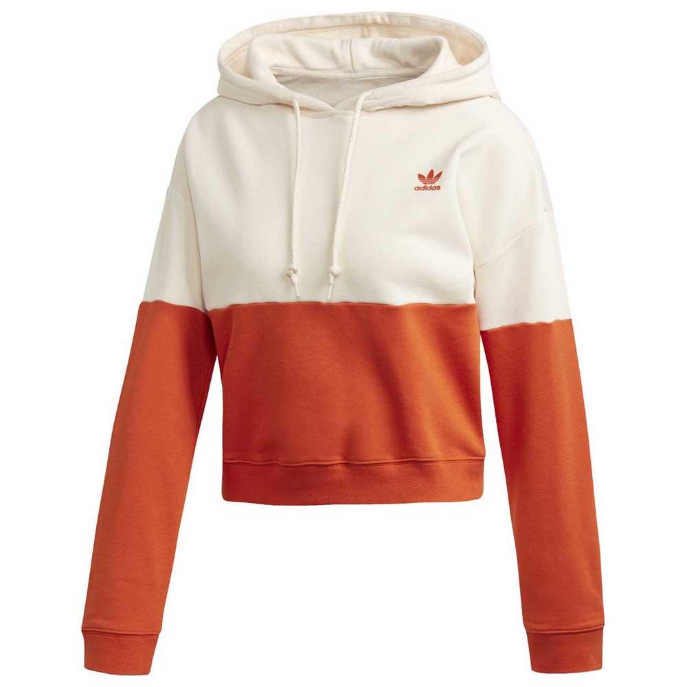 adidas hoodie orange