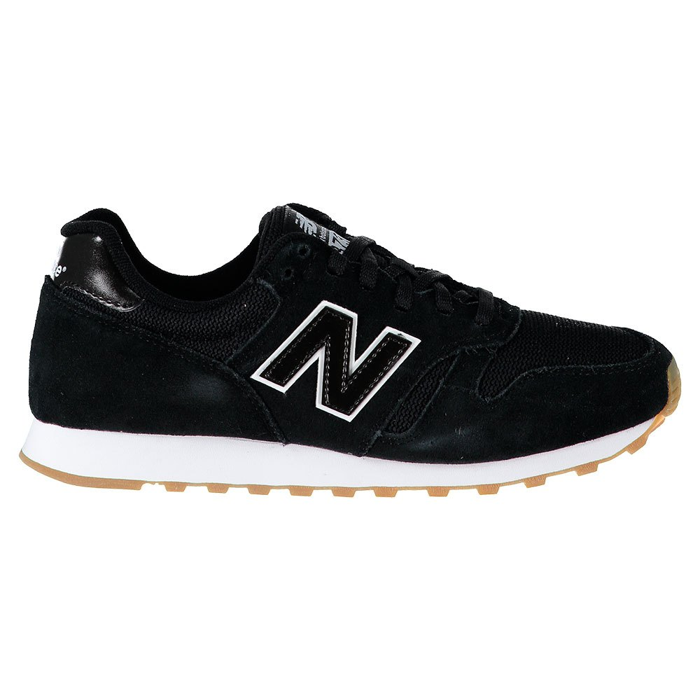 new balance 373 black sneakers