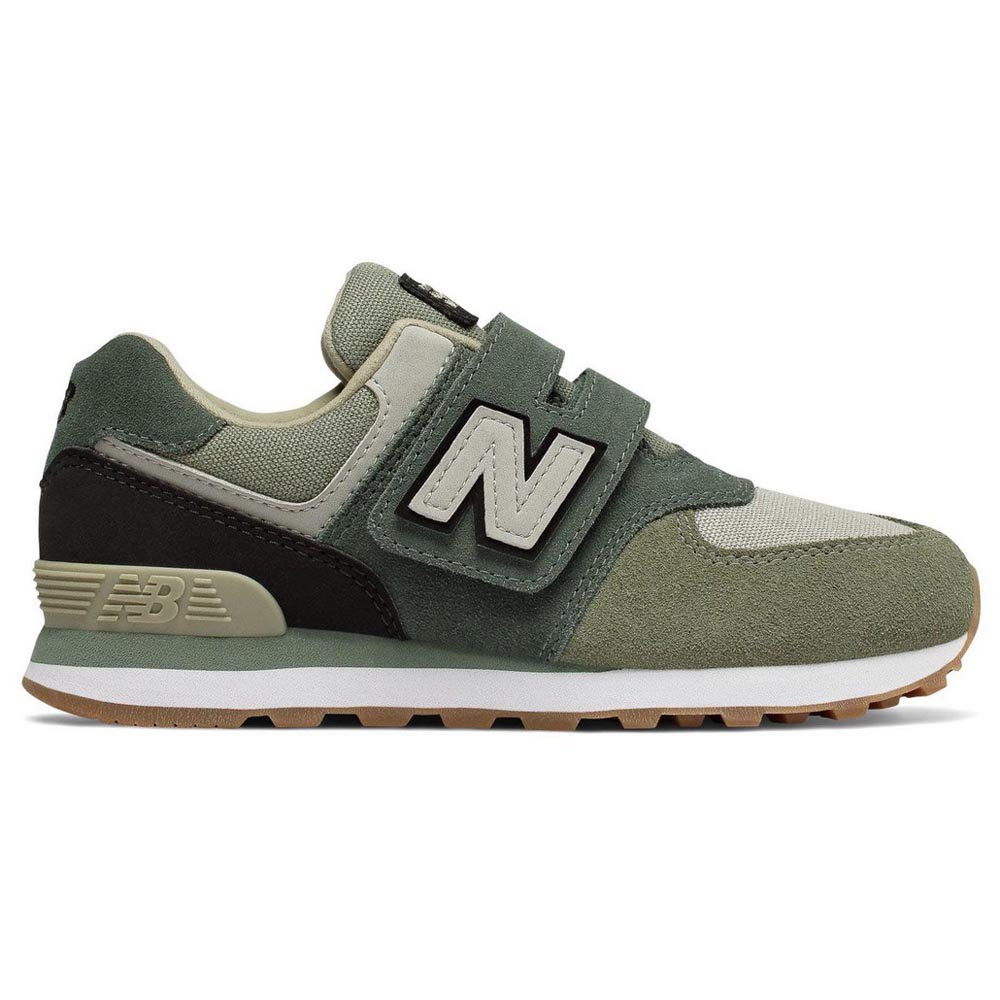 New balance 574 Velcro Trainers Green buy and offers on Dressinn