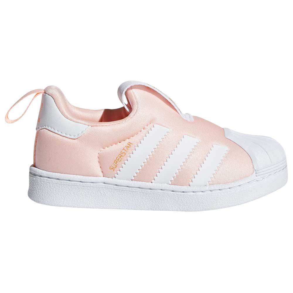 adidas originals Superstar 360 Infant Trainers Pink, Dressinn