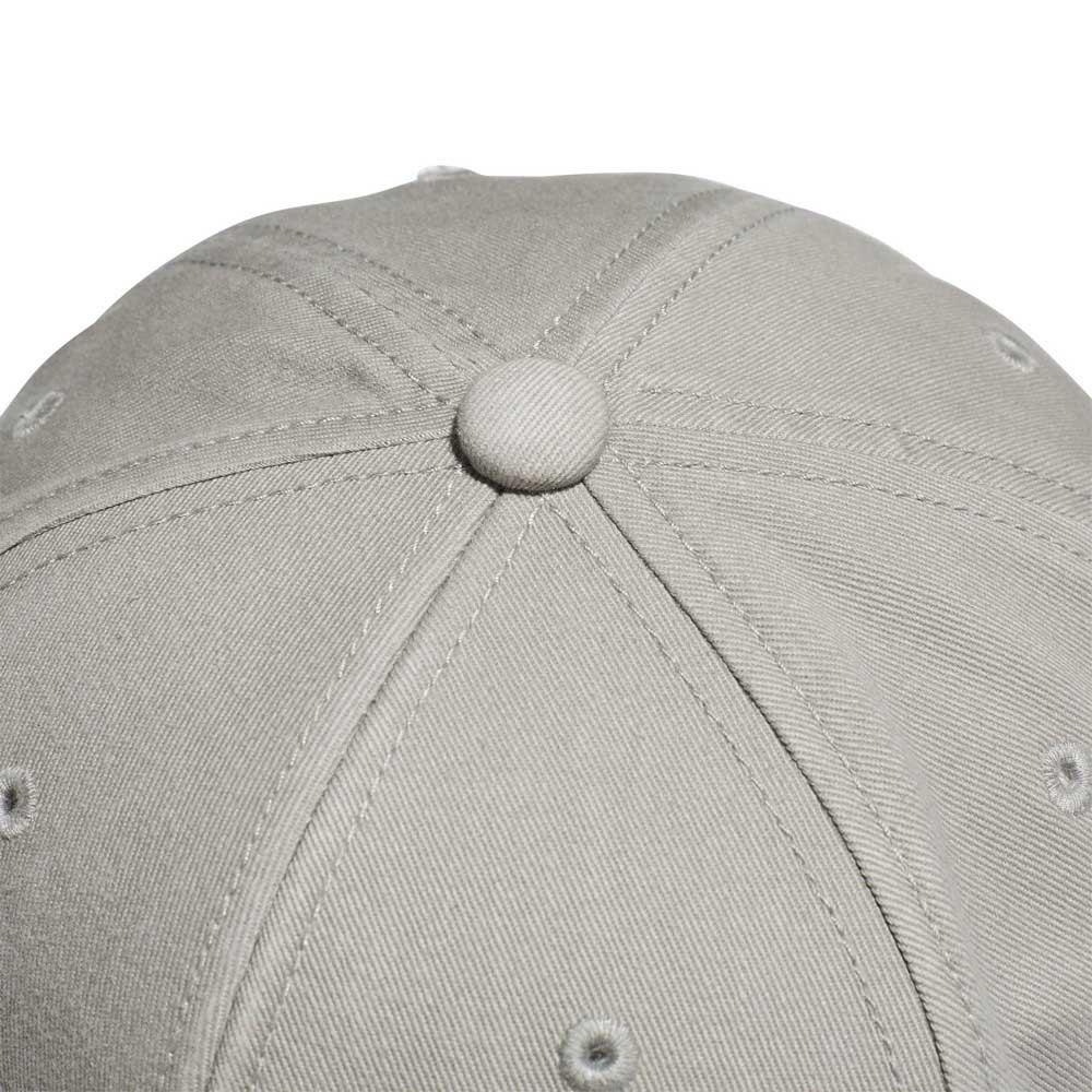 defacbd7c6ca6 adidas originals Trefoil Adicolor Flat Snapback Gris