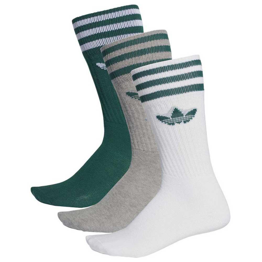 adidas originals Solid Crew Sock Vit köp och erbjuder, Dressinn