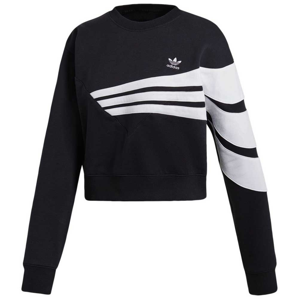 adidas originals Sweater Black buy and offers on Dressinn
