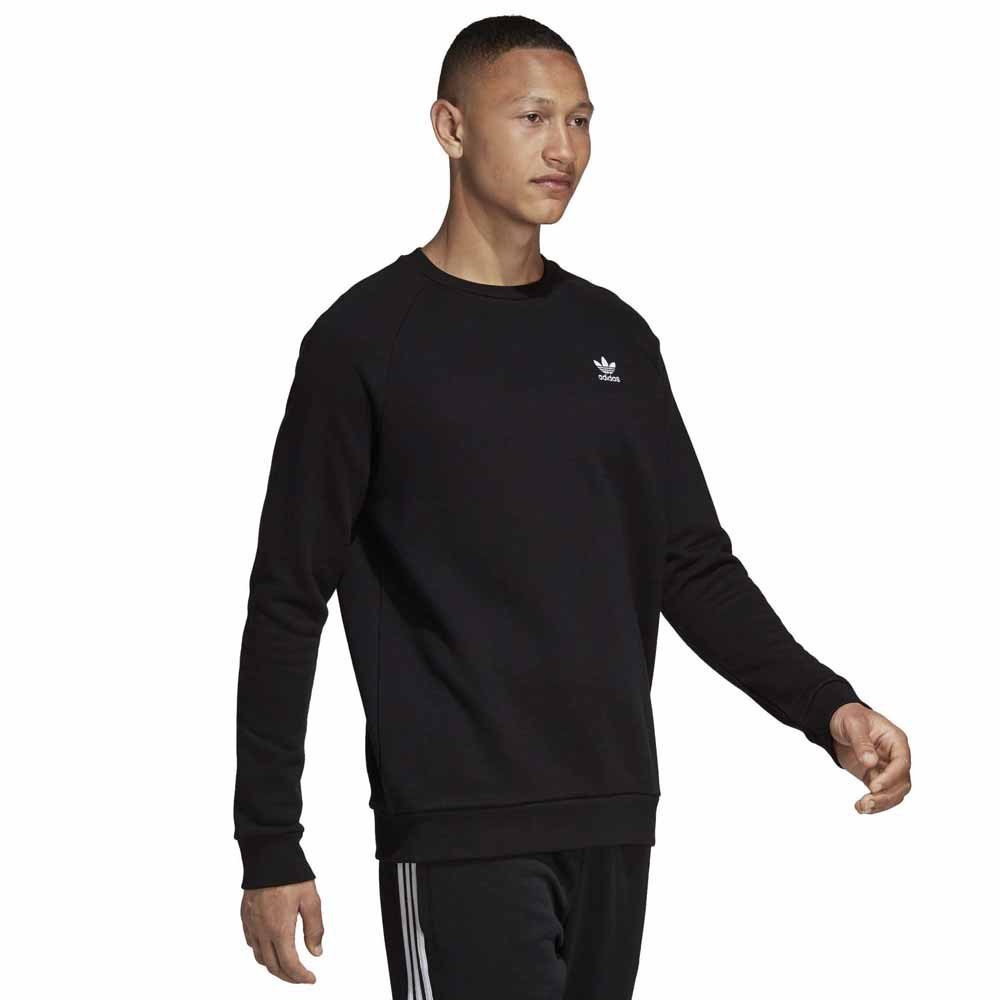 f5806e5d253 adidas originals Essential Crew Svart kjøp og tilbud, Dressinn