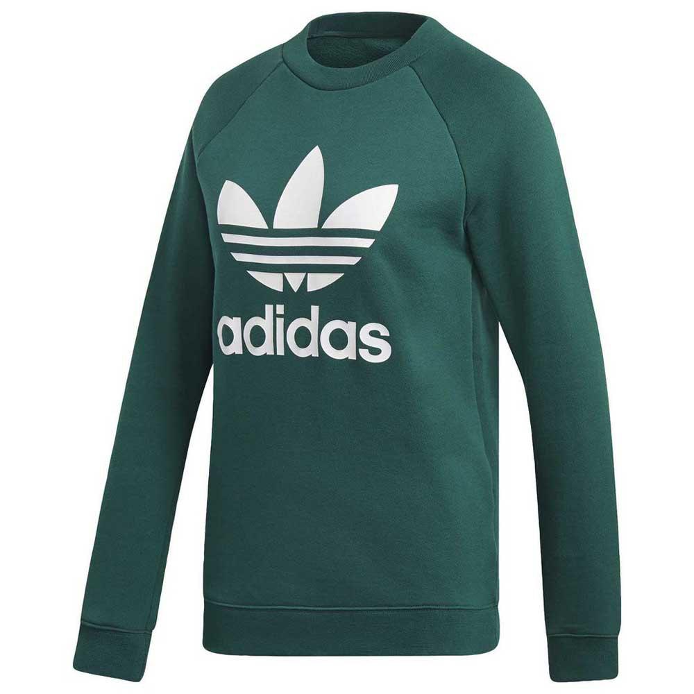 adidas originals Trefoil Crew Grønn kjøp og tilbud, Dressinn