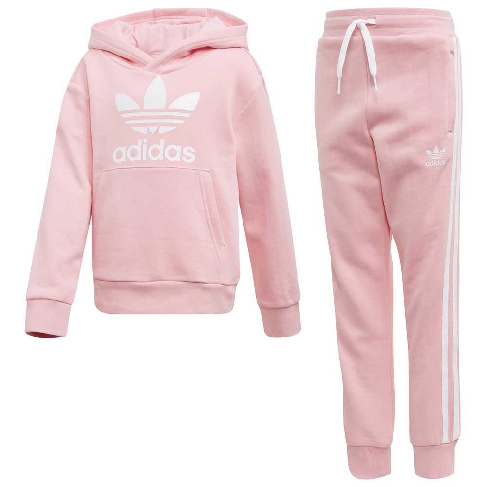6b6f43adeba358 adidas originals Trefoil Розовый, Dressinn Спортивные костюмы