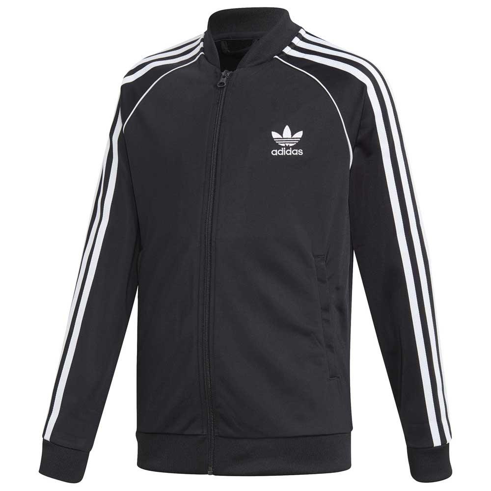 adidas superstar jacket junior black