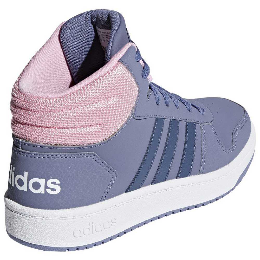 a04b9b675bfc59 adidas Hoops 2.0 Mid Kid Blauw kopen en aanbiedingen, Dressinn