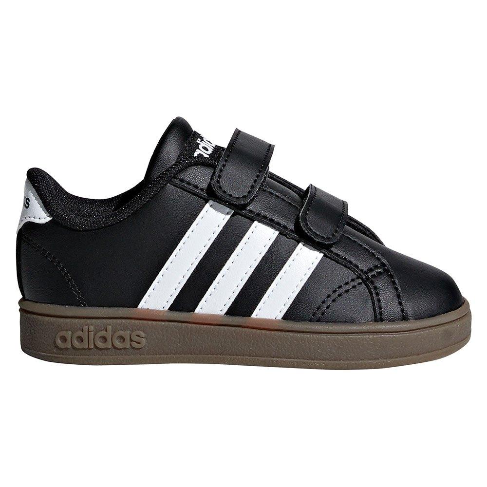 52ee75f35c6d4e adidas Baseline CMF Infant Black buy and offers on Dressinn