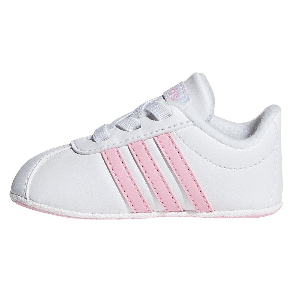 new styles fc860 d0a9c ... adidas VL Court 2.0 Crib ...