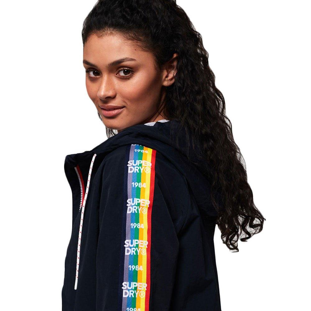 59460e79f Superdry Rainbow Windbreaker Blue buy and offers on Dressinn