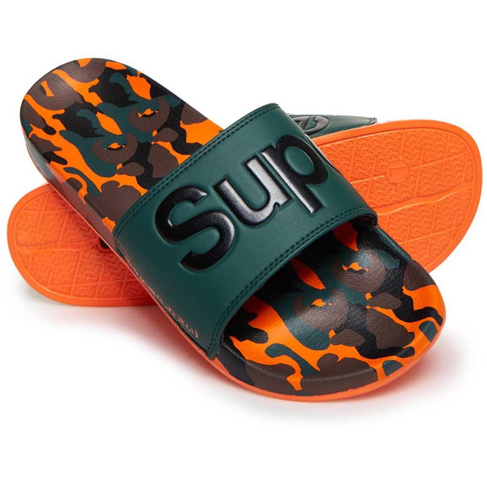 a018372cdcfb Superdry Aop Beach Slide Green buy and offers on Dressinn