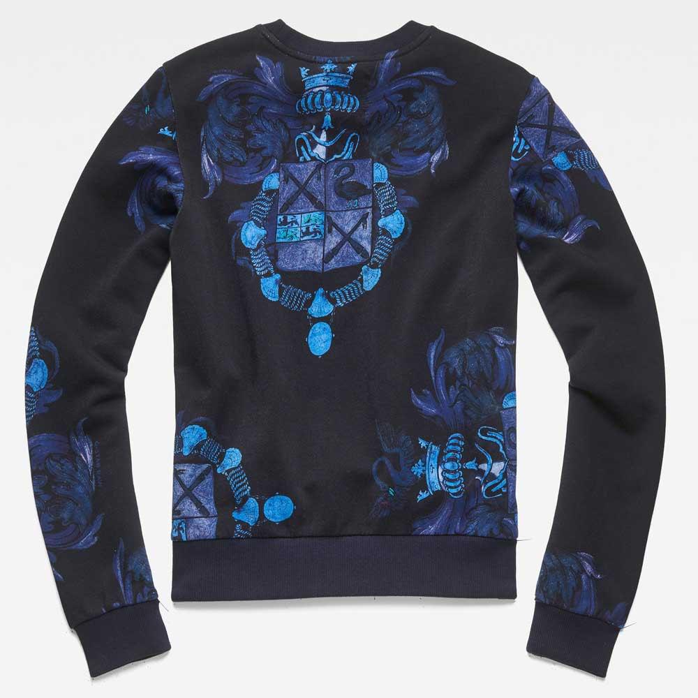 G STAR Loaq R Sweatshirt voor Heren Blauw