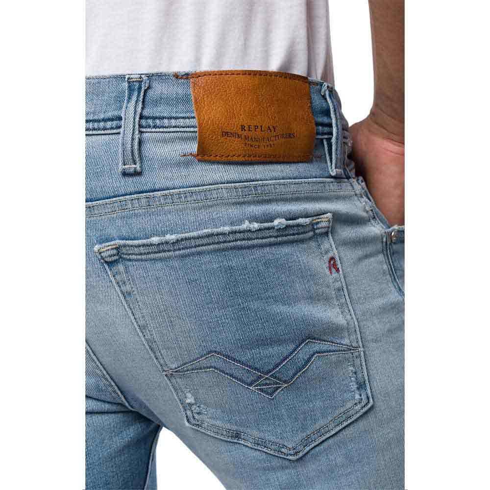Calça Jeans Reta Replay Anbass Masculina | Zattini