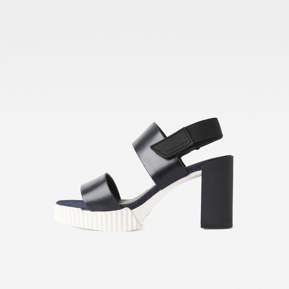 85823082905 Gstar Rackam Core Denim Sandal Blue buy and offers on Dressinn