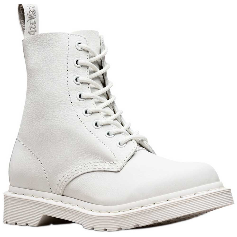 9128059d78be Dr martens Pascal Mono 8-Eye Virginia White, Dressinn